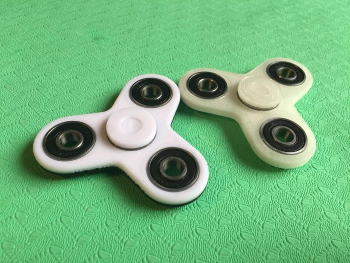 fidget spinner test